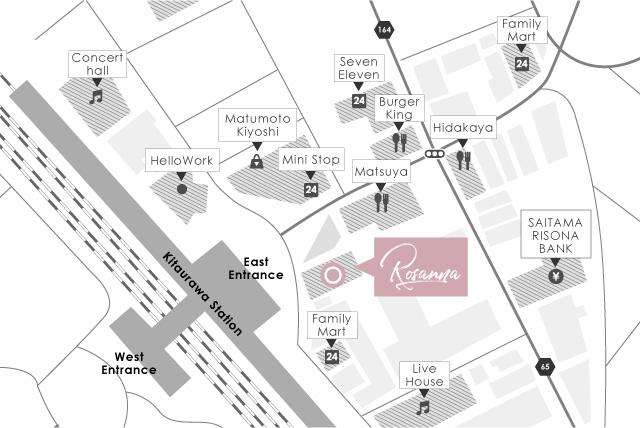 北浦和店map